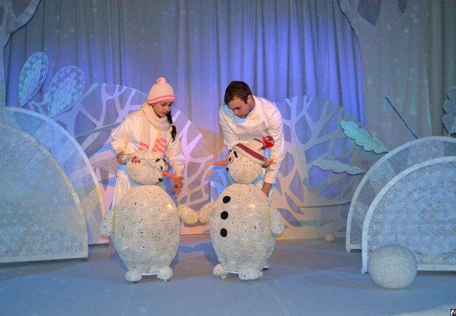 Спектакль для старших классов на новый год