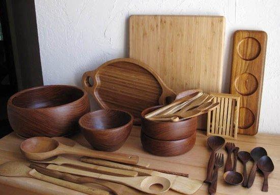 Как делают посуду из дерева своими руками